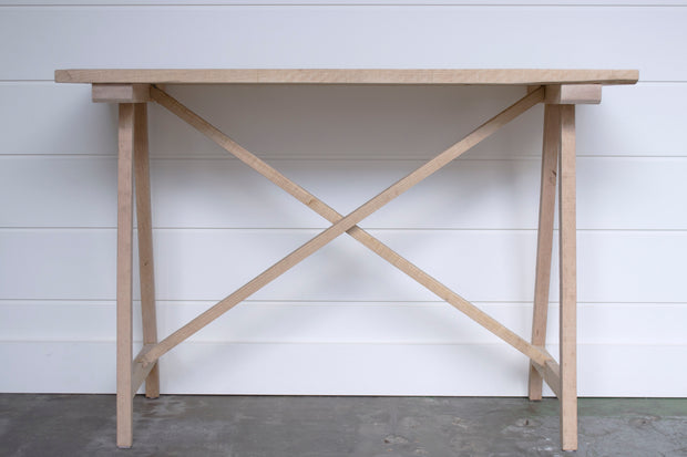 JUXTAPOSITION SOLID OAK CONSOLE