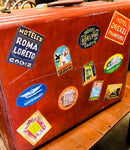 60's Vintage Suitcase found on our Route 66 trip! Sorry! This one got away folks! **SOLD**
