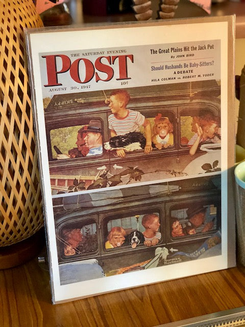 Original Magazine Art From The Saturday Evening Post August 30, 1947