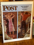 Original Magazine Art From The Saturday Evening Post September 24, 1949