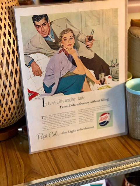 Original Pepsi-Cola Magazine Art
