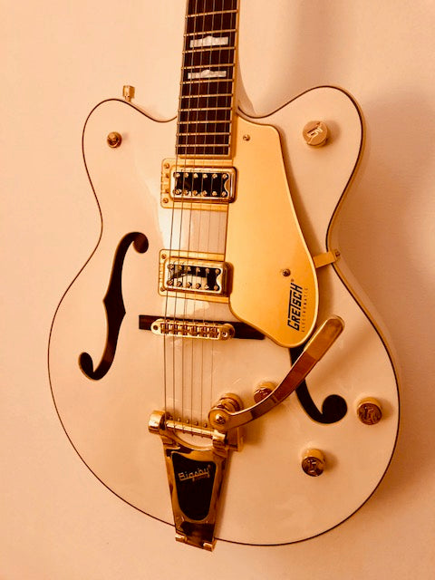 Gretsch White Falcon Six String Electric Guitar **SOLD**