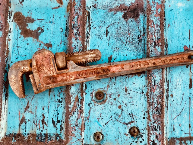 True Vintage Pipe Wrench Made in the USA!