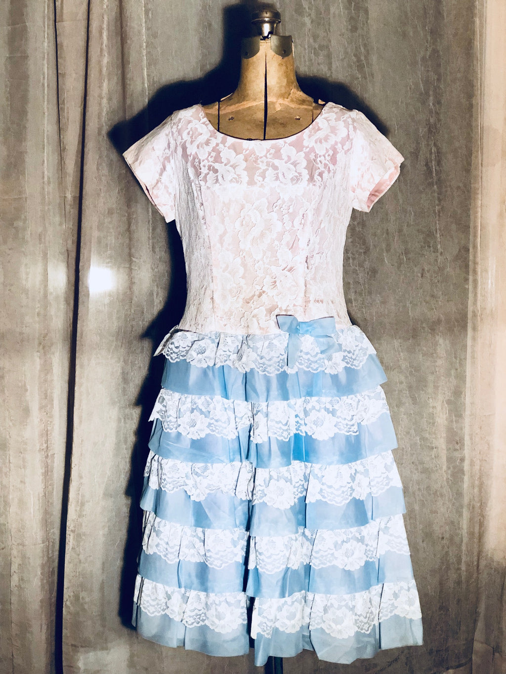 Women's True Vintage ILGWU Dress! 40's-50's Era!