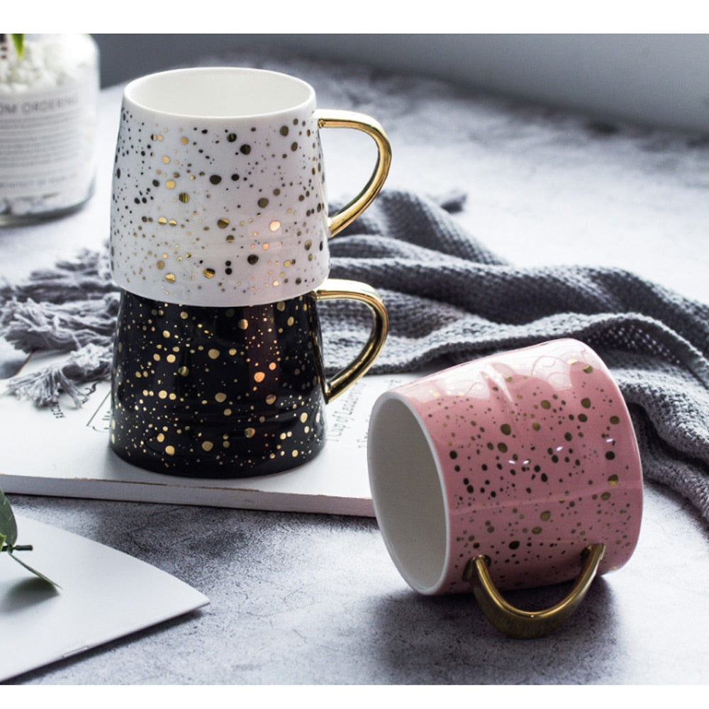 Retro Winter Wonderland Coffee Mugs
