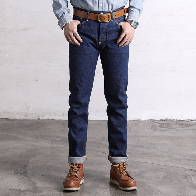 Men's Rockabilly Retro Style Denim Jeans