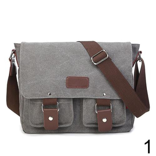 Retro Inspired High Quality Men's Travel Cross-body Bag