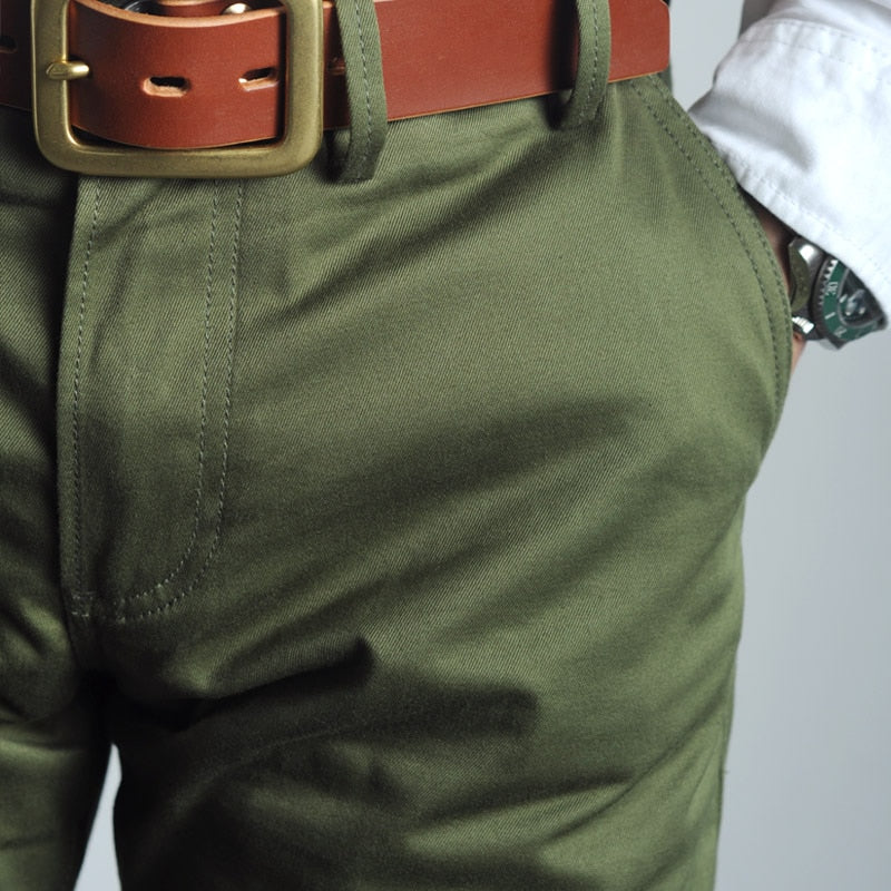 Men's Vintage Army Trousers
