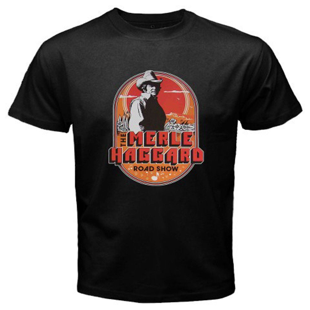 Men's Merle Haggard Country Music Tour T-Shirt