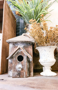 Wooden Bird House Small