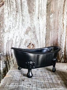 Mini Black Tub