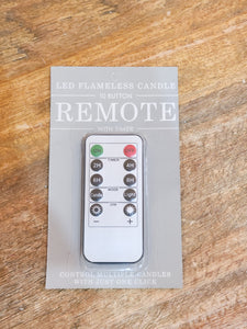 Remote Control for Flameless Candle