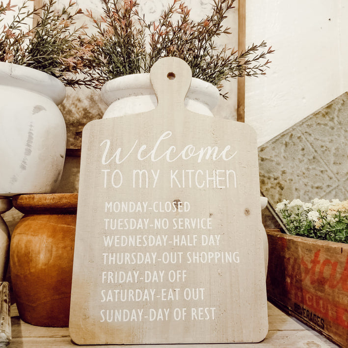 Kitchen Cutting Board Decor