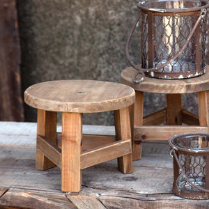Small Wooden Riser Stool