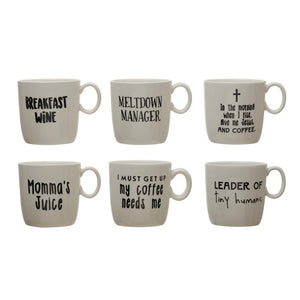Coffee Cups With Sayings