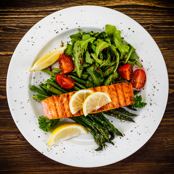 Salmon keto recipe
