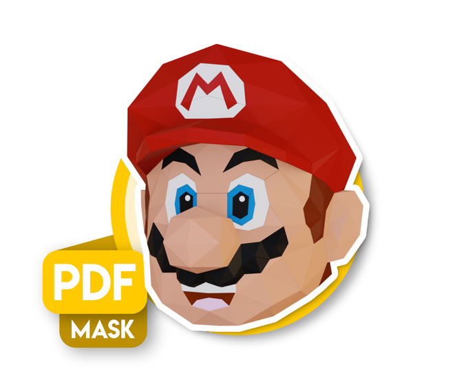Masque Super Mario