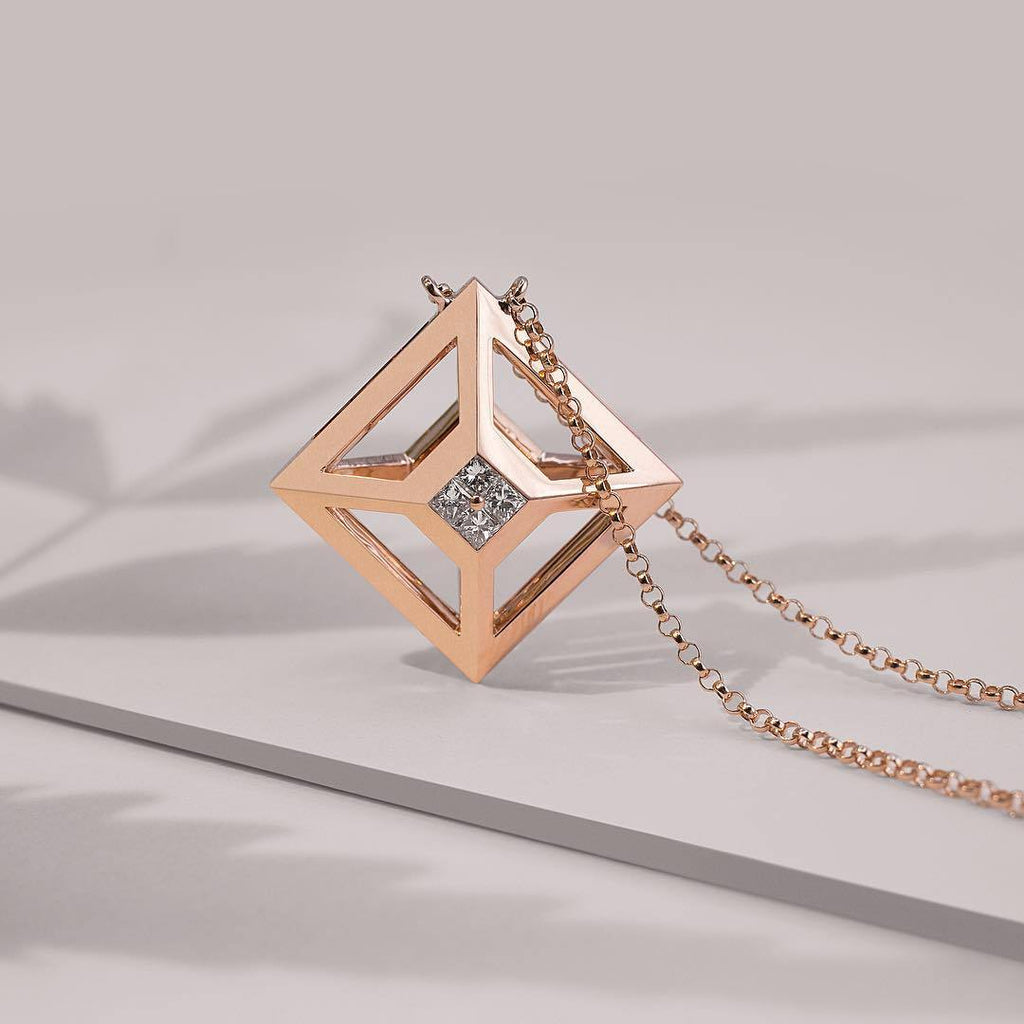TOKEN 2.0 SINGLE NECKLACE - Shamsa Alabbar