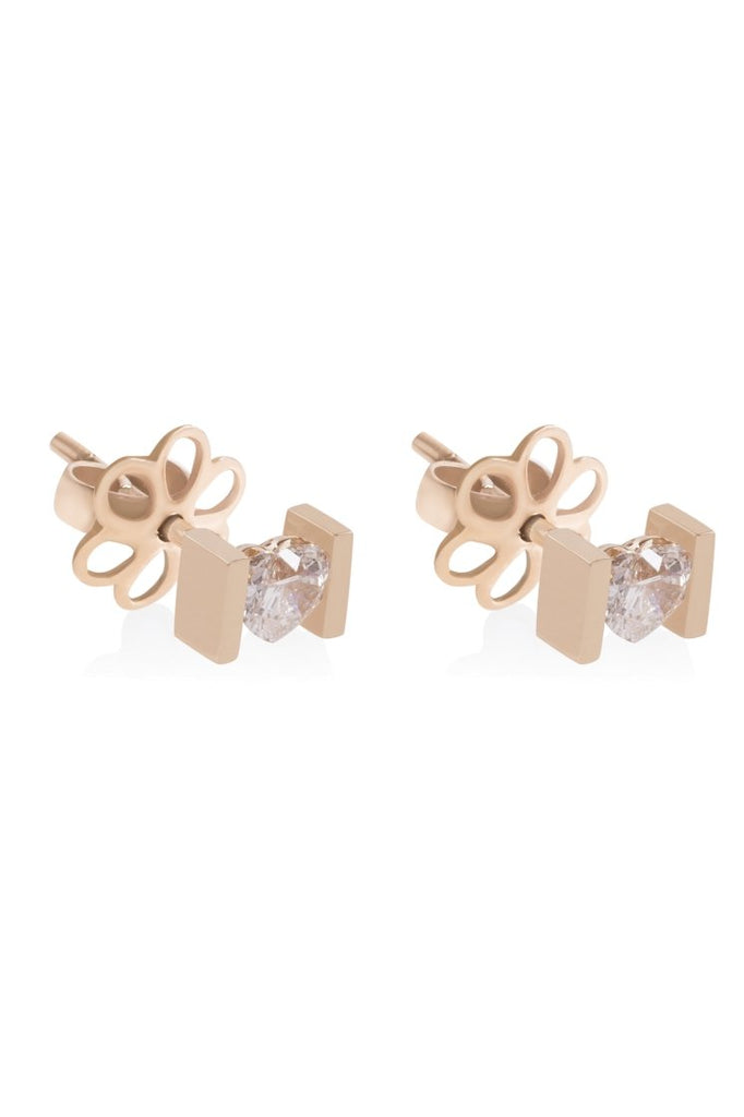 MONOLITH VALENTINE EARRINGS - Shamsa Alabbar