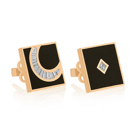 HILAL EARRINGS - Shamsa Alabbar