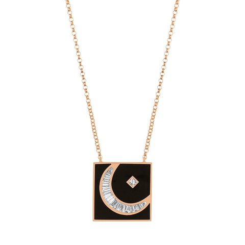 HILAL NECKLACE - Shamsa Alabbar