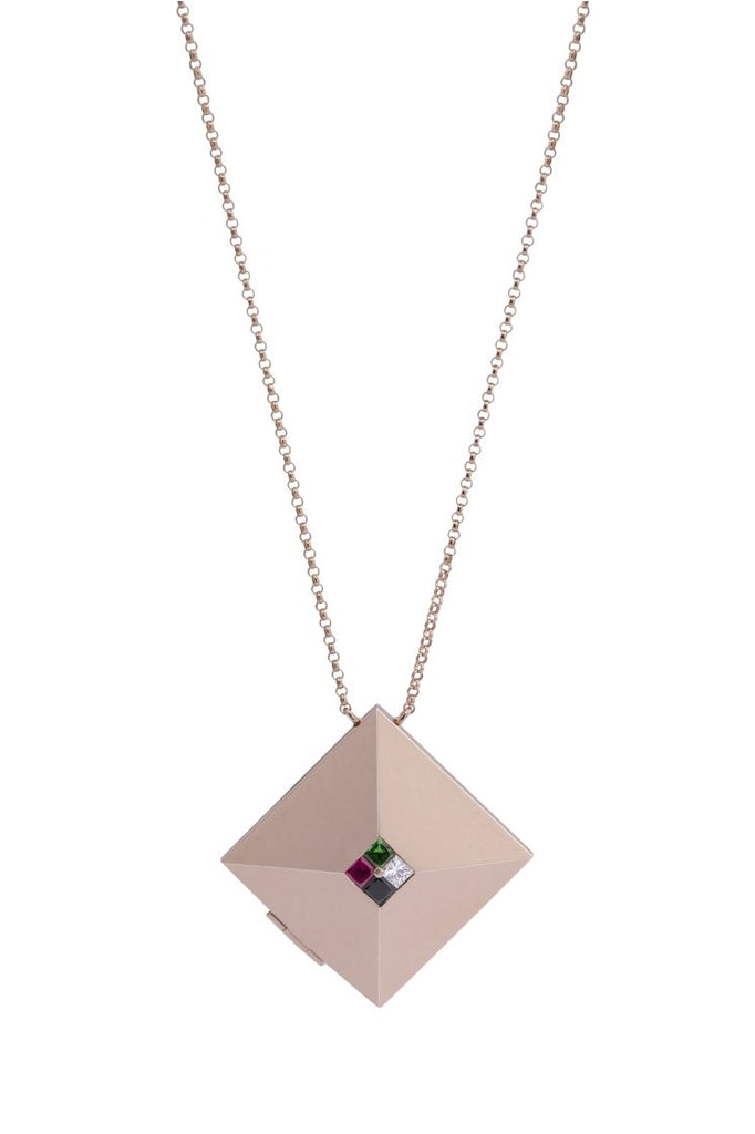 NATIONAL DAY NECKLACE - Shamsa Alabbar