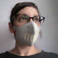 washable fabric face mask, robot