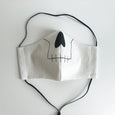 skeleton face mask, washable