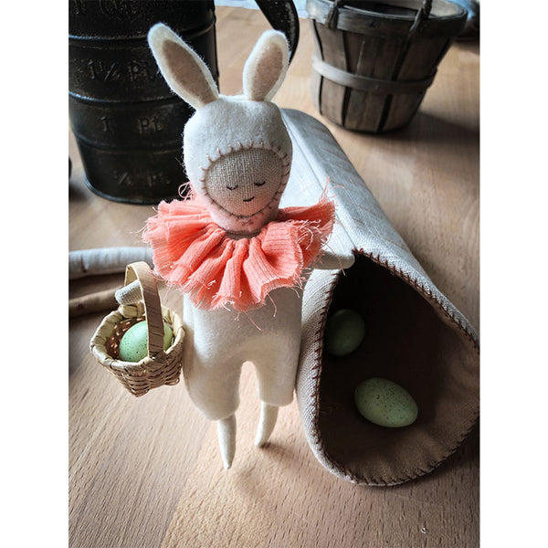 forest friends small doll, bunny