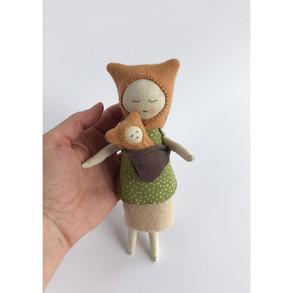 forest friends large doll with baby