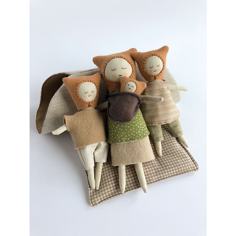 forest friends doll family