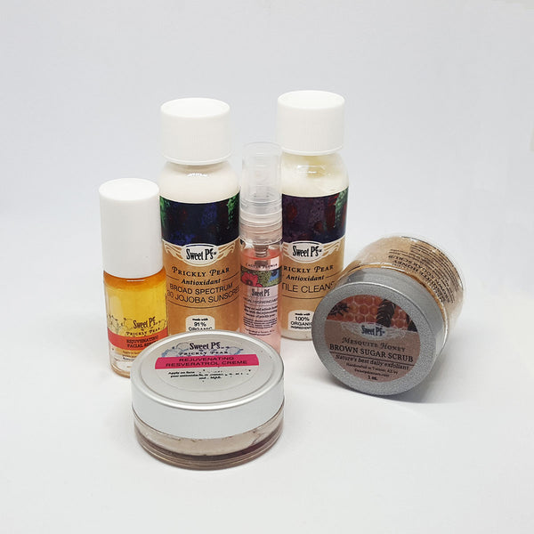 6 Piece Anti-Aging Facial Travel Tin