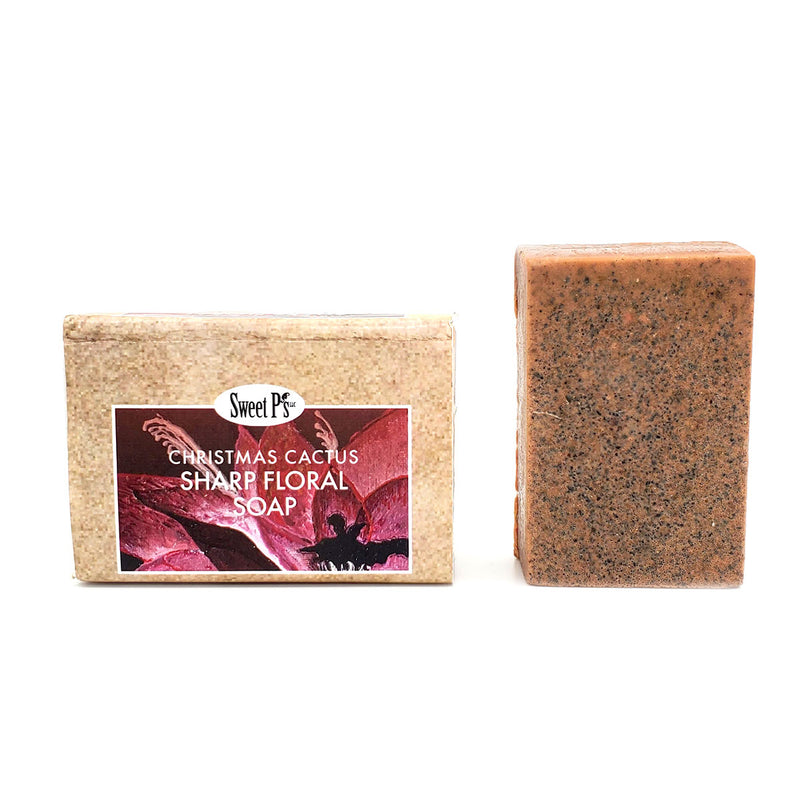 Organic floral scented soap. Comes in cute b gift or yourself. Good evox, great for aeryday soap.