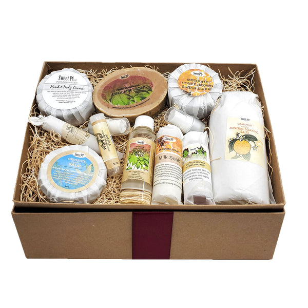 Deluxe Spa Set - Vanilla Sandalwood