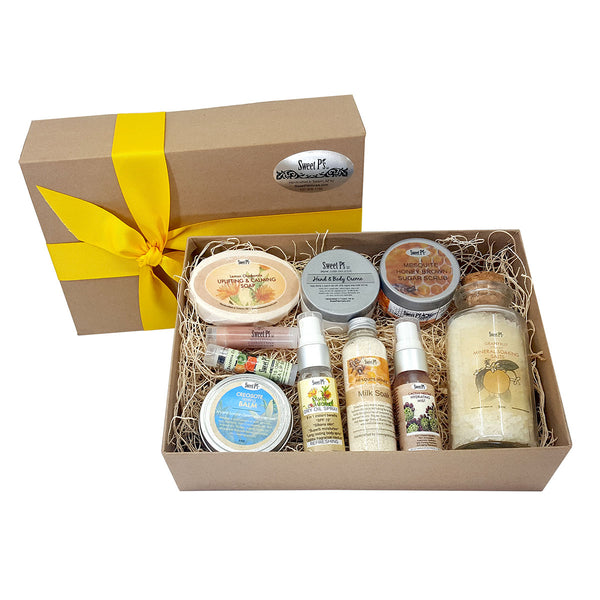 Deluxe Spa Set - Chamomile/Lemon