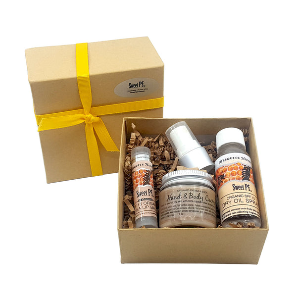 3-Piece Boxed Gift Set - Mesquite Honey