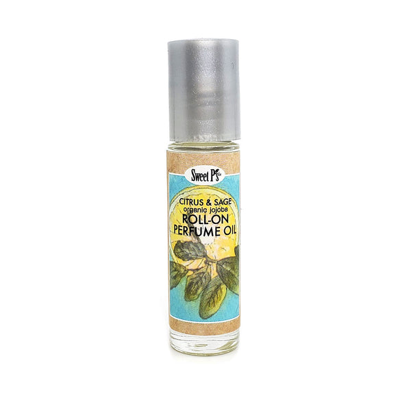 Roll-on Perfume Oil - Citrus & Sage