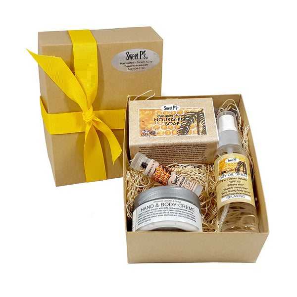 Sweet Treat Spa Set - Mesquite Honey
