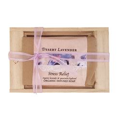 Soap - Desert Lavender and Spearmint (Stress Relief)