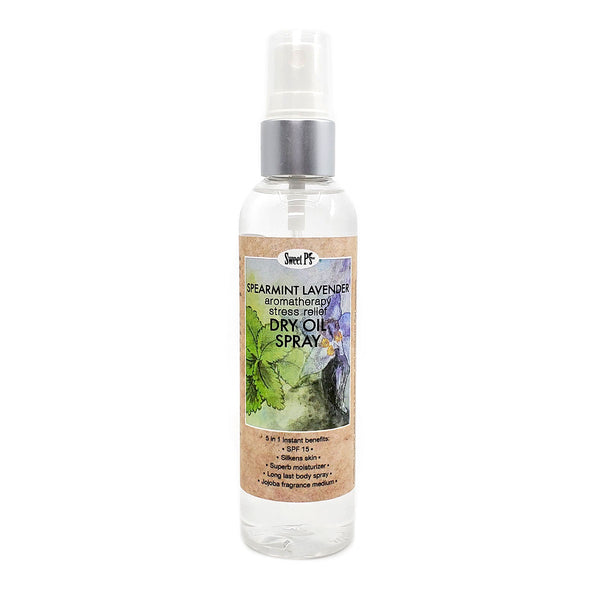 Dry Oil Spray - Spearmint Lavender (Stress Relief)