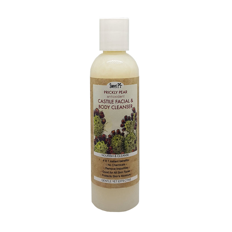 Prickly Pear Castile Face & Body Cleanser