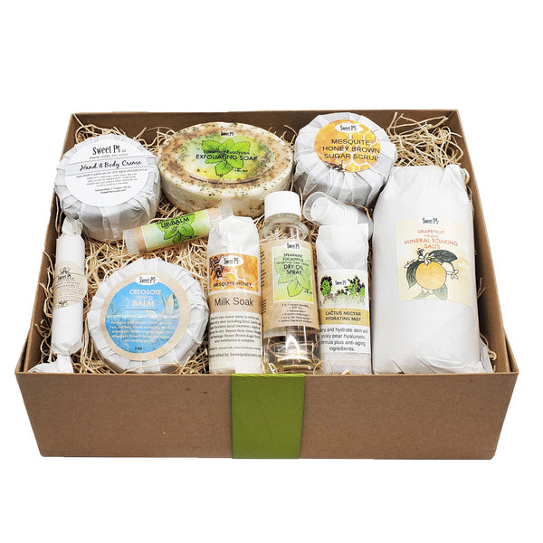 Deluxe Spa Set -Spearmint/Eucalyptus