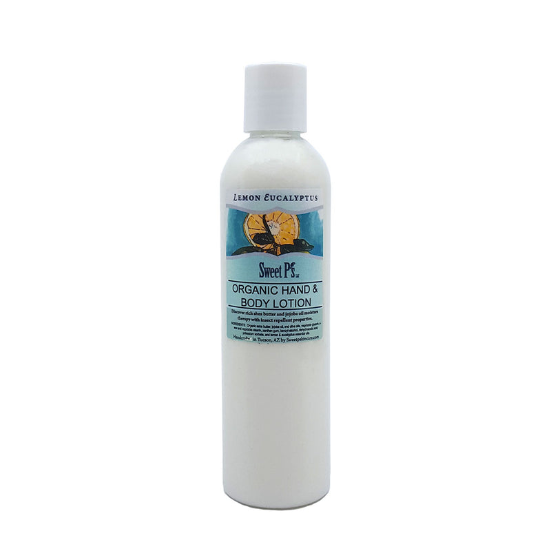 Insect Repellent - Lemon/Eucalyptus Hand & Body Lotion