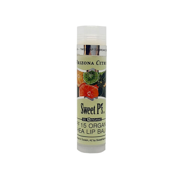 Organic Lip Balm - Arizona Citrus