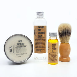 Men's 4 Piece Wet Shave Set