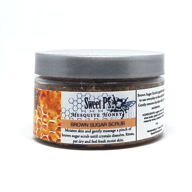 mesquite honey brown sugar scrub