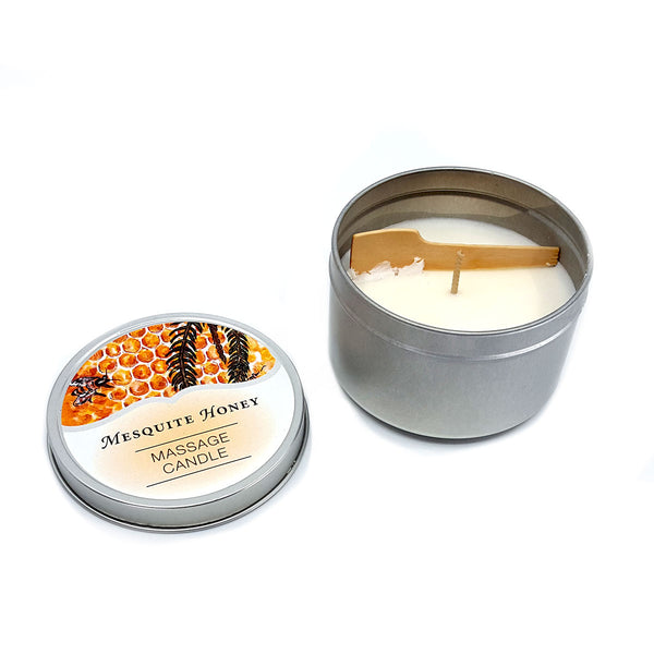 Massage Candle - Mesquite Honey