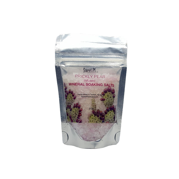 Mineral Soaking Salts - Prickly Pear
