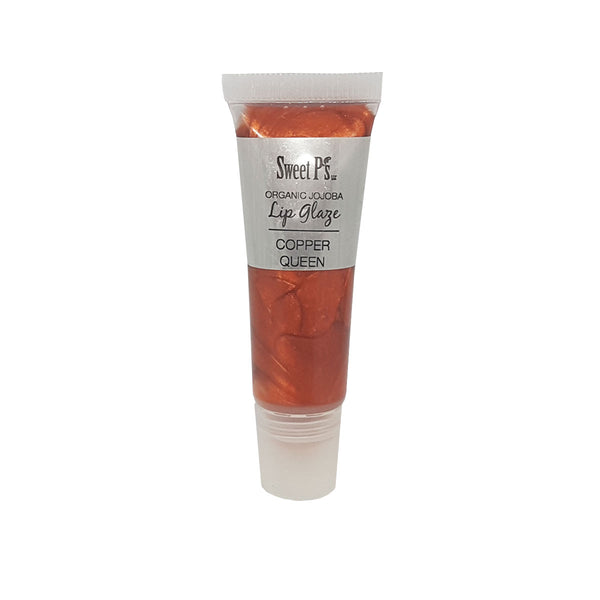 copper color lip gloss organic and really moisturizing