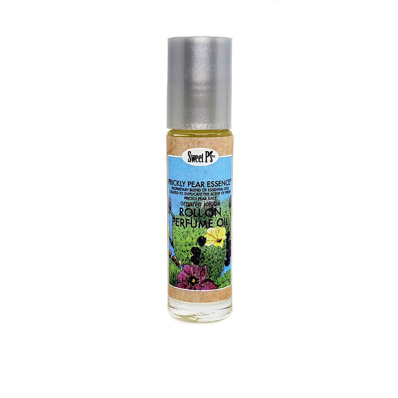 prickly pear roll on perfume oil made with certified organic jojoba oil